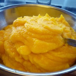 Pumpkin Puree Recipe - This is a simple method for preparing pureed pumpkin. The pumpkin may be stored in the freezer for later usage in pies, muffins, etc.
