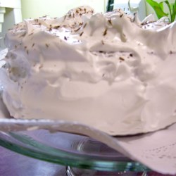 No Cook Icing Recipe - Light and fluffy icing. Perfect for an angel food cake. You would swear it was a boiled frosting, all the taste, very little effort! I like to change it up a bit and use maple or peppermint extract instead of the vanilla.
