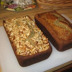 Bangin' Banana Bread Recipe - This is a loaf with the pure taste of bananas and the toasty crunch of macadamia nuts.