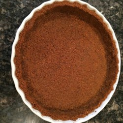Holiday Ginger Snap Crust Recipe - This tasty and flavorful twist on a graham cracker pie crust is great for the holidays, and fabulous with pumpkin cheesecake!