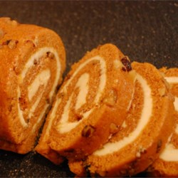 Pumpkin Roll II Recipe - This is the best pumpkin roll I've ever tasted. Everyone who tastes it always ask for the recipe. Note: One 29 ounce can of pumpkin will make 5 pumpkin rolls. Dust with additional confectioners' sugar, if desired.