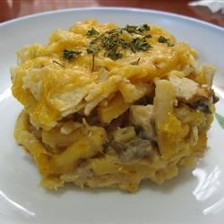 Quick Tuna Casserole Recipe and Video - This is the quickest tuna casserole ever!  You can also 'fancy it up' by transferring it to a baking dish, topping it with fried onions, and broiling it for a few minutes.