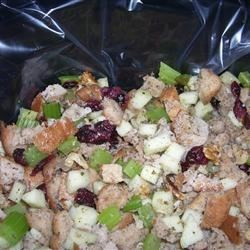 Awesome cranberry apple stuffing