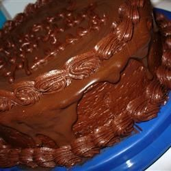 Ganache II Recipe - Heavy cream, butter and chocolate are melted together to make a dark chocolate glaze. Use high quality chocolate in this recipe.
