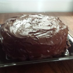 Chocolate Yum Yum Cake Recipe - A yummy chocolate cake with a yummy chocolate frosting.