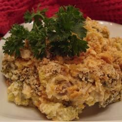 Broccoli Casserole Recipe - Broccoli casserole enriched with cheese, mayonnaise, and cream of mushroom soup - delicious and EASY to make!