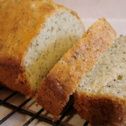 Poppy Seed Bread I Recipe - This sweet quick bread needs only the unique taste of crunchy little poppy seeds to make you smile.