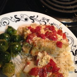 Baked Cod with Boursin Herb Cheese Photos - Allrecipes.com