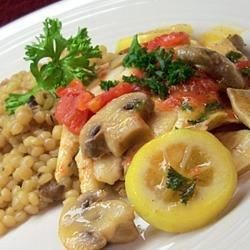 Tilapia and Mizithra Pasta Recipe - It is a delightful seafood dish that works beautifully with the Mizithra undertones. Plus, it's terribly easy to make.