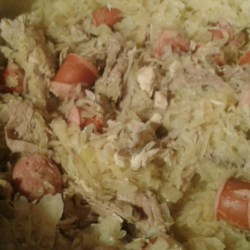 Pork Roast with Sauerkraut and Kielbasa Photos ...