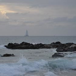Dusk in the US Virgin Islands