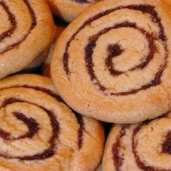 Pinwheel Cookies III Recipe - Pinwheel cookies are filled with a date-nut fillings to create a delicious treat.