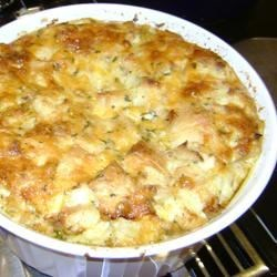 Crab Tuna Souffle Recipe - My dad used to make this recipe when I was a child. It was the only way I would eat seafood. Now that I've become a seafood lover, I really enjoy this one even more!  Good for special occasions since it has to be chilled overnight.