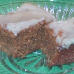 Iced-Spiced Ginger Bars Recipe - I got this from a friend's mom, and they are great!
