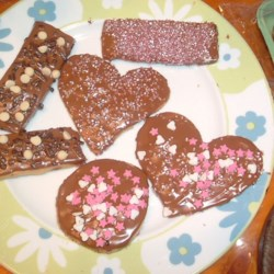 Popes valentines cookies