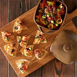 Chicken Nachos from Reynolds Wrap(R) Recipe - Make this fun and kid-friendly appetizer in 30 minutes or less!