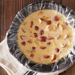 Hearty Ham Chowder Recipe - Feed the whole family with this filling and flavorful ham chowder.