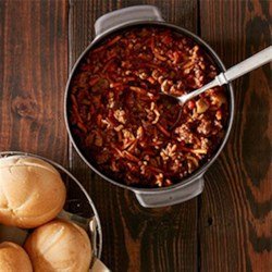 Spicy Beef Sloppy Joes Recipe - These delicious sloppy joes will make a mess on your face, not in your slow cooker!