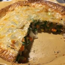 vegetable pot pie crust recipe