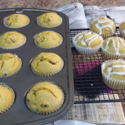 Pumpkin Muffins I Recipe - These yummy pumpkin-raisin muffins favor nutmeg over cinnamon to distinguish them.
