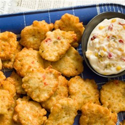Corn and Crab Fritters with Lemon Aioli Recipe - Like home canning, the canning process seals in corn's natural goodness and nutrition, making it the perfect, flavorful addition to these fritters.