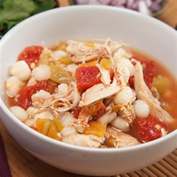 Quick and Easy Chicken Pozole Recipe - Canned chicken broth not only saves you time in the kitchen, its rich flavors breath life into this traditional Mexican soup and bring together all of its nutritious ingredients.