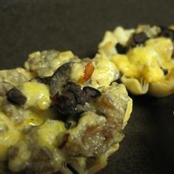 Sausage and Mushroom Tarts