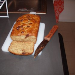 Lower Fat Banana Bread II with Chocolate chips