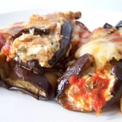 Eggplant Rollati Appetizer