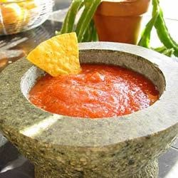 Salsa Ninety Nine (Mild) Recipe - A salsa recipe for those with a tomato and pepper garden.  If you prefer a hotter salsa, add more jalapeno or cayenne pepper.