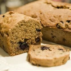 Banana Bread with Blueberries & Walnuts