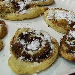 Flaky Cinnamon Cookies Recipe - Really easy and tasty. Similar to elephant ears.