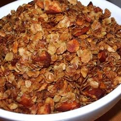 Honey Nut Granola Recipe - It's easy to make your own delicious granola! Mix together your favorite grains, seeds and nuts, then bake.