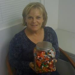 Guess how many candies in the jar
