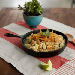 White Bean Chicken Chili from Knorr(R) Recipe - Make this white chicken chili with creamy cannellini beans, fresh zucchini, and zesty chilies--ready to serve in 30 minutes.