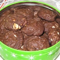 Chocolate Pile-Up Cookies