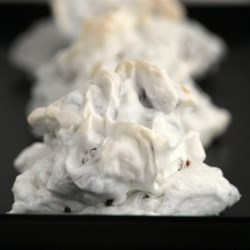 Forgotten Puffs (Chocolate Chip Meringue Cookies) Recipe - These meringue cookies with chocolate chips and nuts are gluten-free, but everyone will love them. You put them in the oven, turn it off, and let the cookies finish baking while you do other things.
