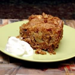 Fresh Apple Cake II Recipe - A moist and nutty cake that keeps and freezes well. Frost with your choice of frostings. Some suggestions are: Cream Cheese Frosting, Whipped Cream or White Buttercream.