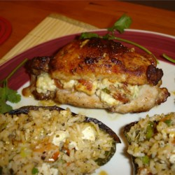 Blue Cheese, Bacon and Chive Stuffed Pork Chops Photos - Allrecipes ...