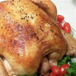 Simple Chicken Brine Recipe and Video - Just a simple chicken brine to help make the meat just a little more tender and juicy. This recipe was made for roughly a 6 pound whole chicken.