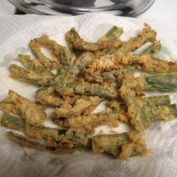 Jalapeno Fries Recipe - Slice up jalapeno peppers and coat with a seasoned flour mixture before frying in hot oil for a new twist on fries. Serve with your favorite creamy dressing.