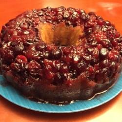 Cranberry Upside Down Cake Recipe Sour Cream