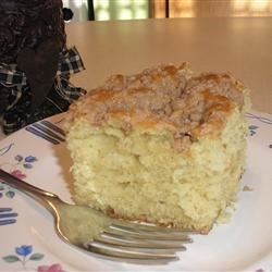 Jewish Coffee Cake I Recipe - A moist cake with a buttery, cinnamon, and sugar topping.