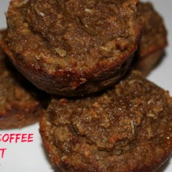 Coconut Coffee Muffins Recipe - These coconut coffee muffins, made with coconut flour and shredded coconut, are a gluten-free treat that are quick and easy to prepare.
