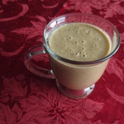 Pumpkin Apple Smoothie Recipe - This pumpkin apple smoothie made with almond milk, chia seeds, and hemp seeds is a hearty, on-the-go breakfast.