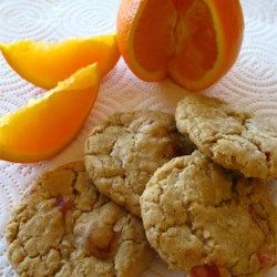 Orange Slice Cookies I Recipe - This recipe is my own adaptation of a recipe that came from my husband's grandmother.  I made a few changes to suit my own family's tastes.  These cookies are a big hit with kids as well as adults.