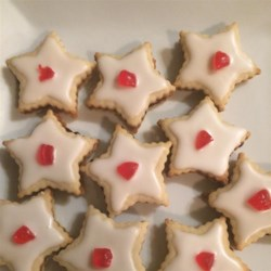 Empire Cookies Recipe - Jam filled shortbread cookies have been a longtime favorite on Scottish and   English tea tables. Now popular in Canada!  Store in a covered tin.