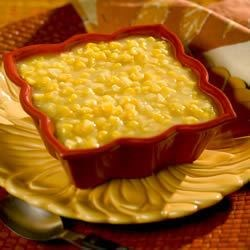 Brookville Hotel Cream-Style Corn Recipe - This is just one of the many items available at the Famous Brookville Hotel in Abilene Kansas.  Formerly located in Brookville Kansas.
