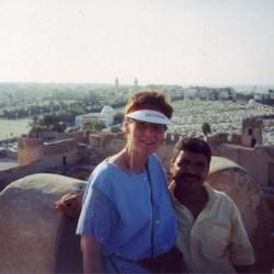 atop a Riyad.  Monastir, Tunisia
