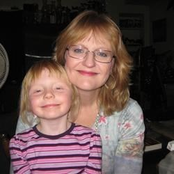 Me (Karla) and my daughter, Sally Emma